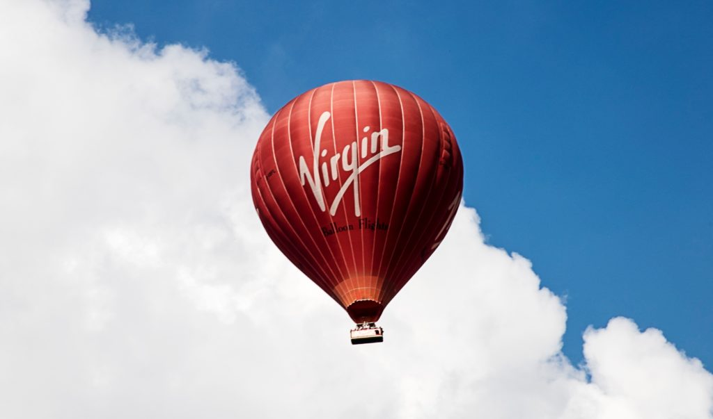 Virgin - Heissluftballon