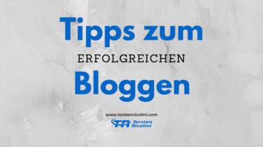 Tipps zum Bloggen