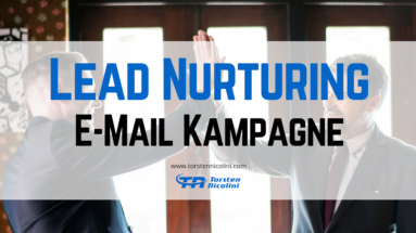 Lead Nurturing E-Mail Kampagne