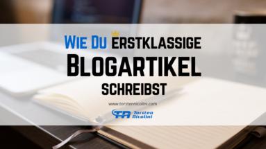 Tipps zum Schreiben erstklassiger Blogartikel