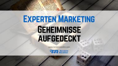 7 Experten Marketing Geheimnisse
