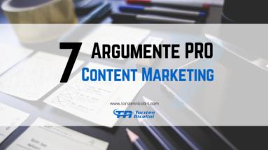 7 Gründe für Content Marketing