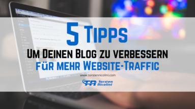 Blog verbessern