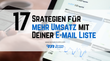 E-Mail Liste Umsatz steigern