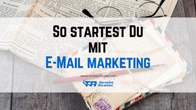 E-Mail Marketing starten
