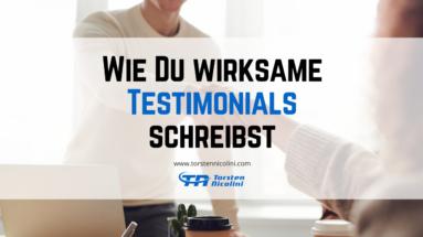 Testimonials schreiben