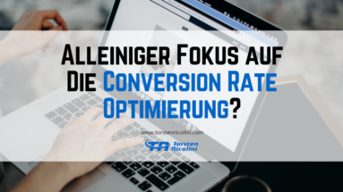Fokus - Conversion Rate Optimierung