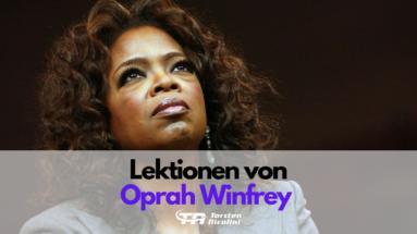 Lektionen von Oprah Winfrey