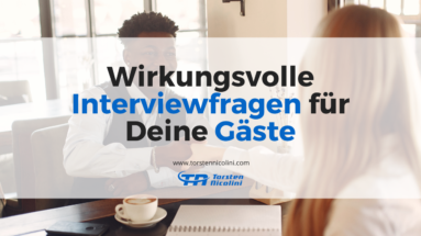 Interviewfragen Blog