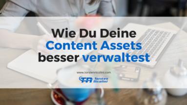 Content Assets verwalten