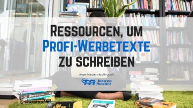 Ressourcen Werbetexte
